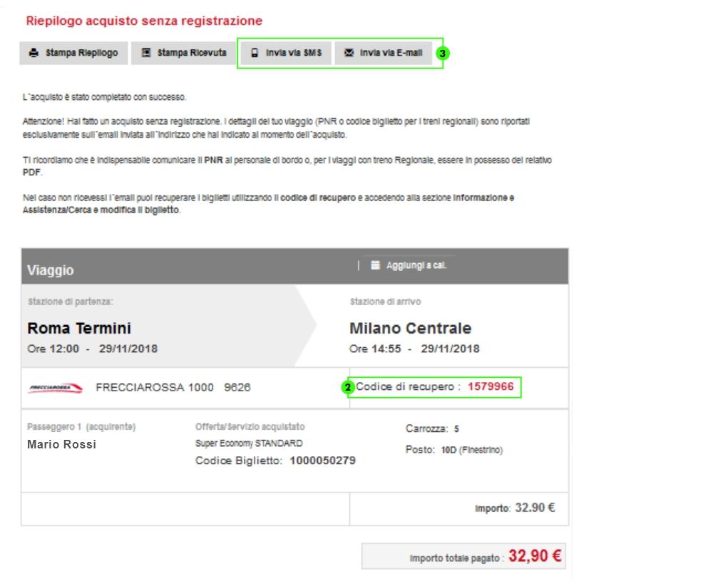 huge discount fed21 e63eb Come acquistare online il biglietto - Trenitalia