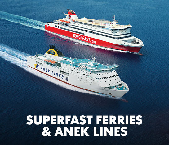 Superfast Ferries e Anek Lines